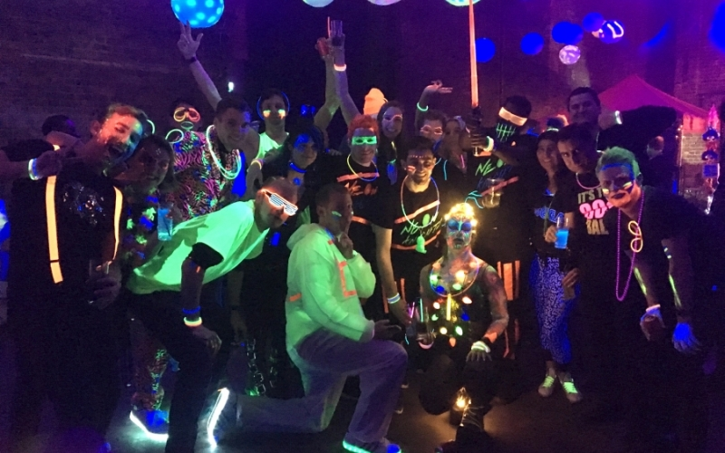Neon Nights Christmas Party 2016